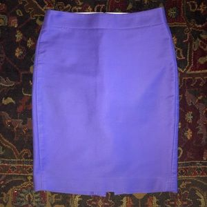J CREW NO. 2 PENCIL SKIRT COTTON SIZE 2